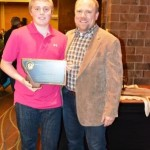 2013 Youth Hunter of the Year Clay Cebull with father Brian Cebull