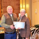 2013 Hunter of the Year Bill Stratton with wife Virginia Stratton.